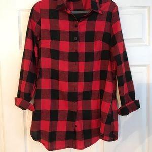 Dresses & Skirts - Buffalo plaid top/dress